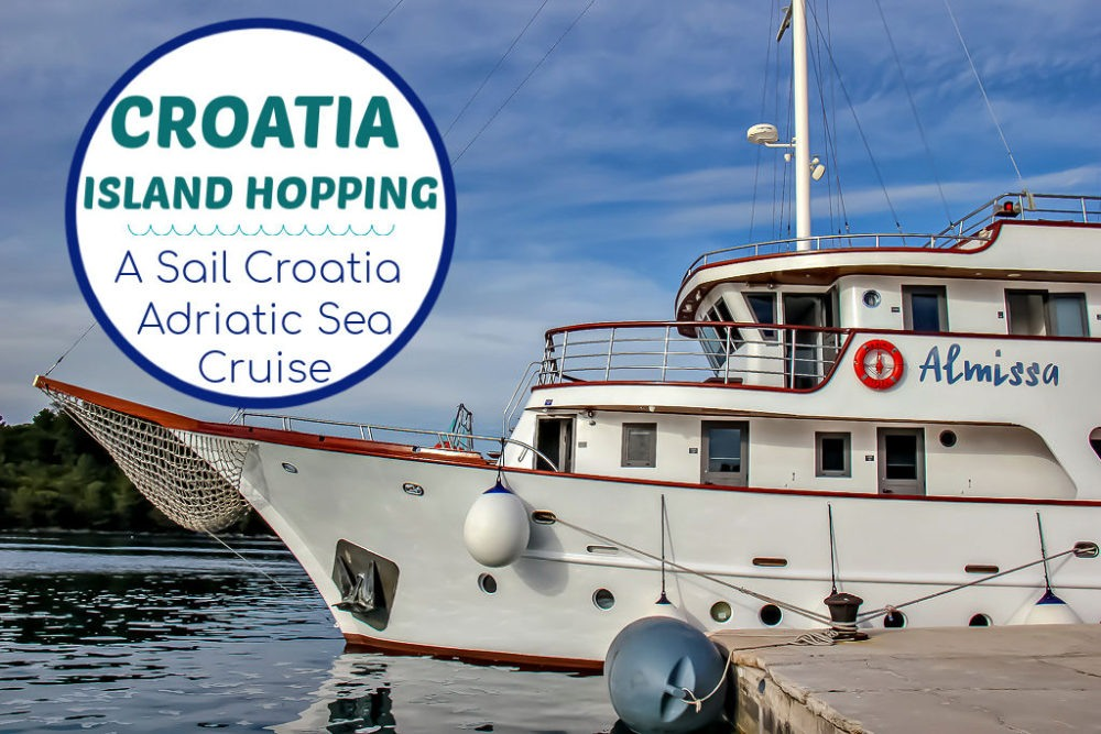Croatia Island Hopping: Our 1-Week Sail Croatia Adriatic Sea Cruise by JetSettingFools.com