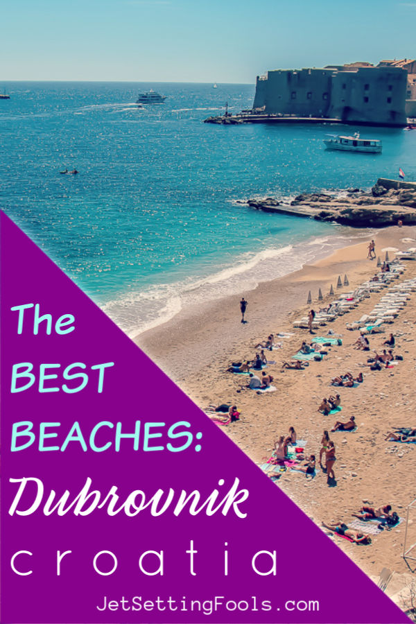 The Best Beaches Dubrovnik Croatia by JetSettingFools.com