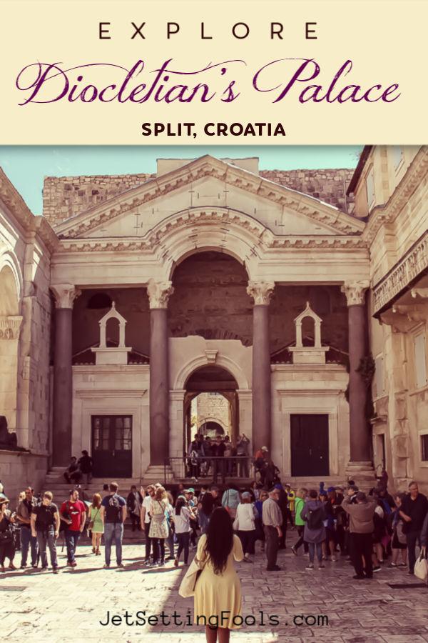Explore Diocletians Palace, Split, Croatia by JetSettingFools.com