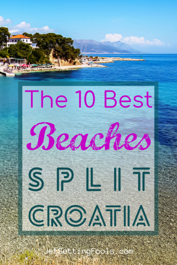 Best Beaches in Split, Croatia by JetSettingFools.com
