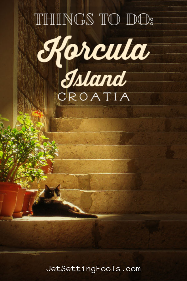 Korcula Things To Do by JetSettingFools.com