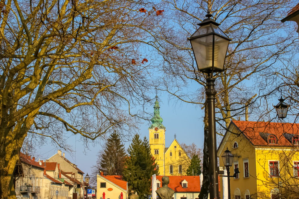 The town of Samobor, Croatia
