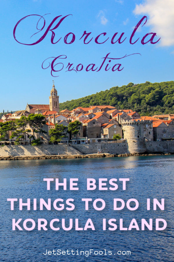 The Best Things To Do in Korcula Island, Croatia by JetSettingFools.com