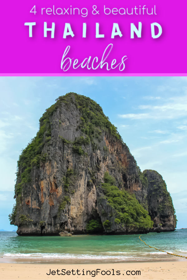 4 Relaxing and Beautiful Thai Beaches by JetSettingFools.com