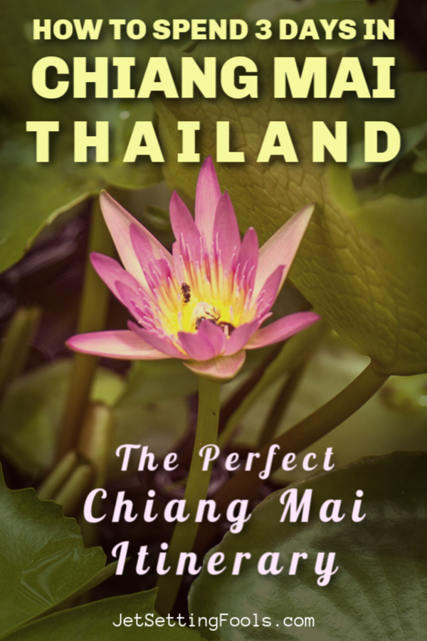 How To Spend 3 Days in Chiang Mai, Thailand a Perfect Chiang Mai Itinerary by JetSettingFools.com