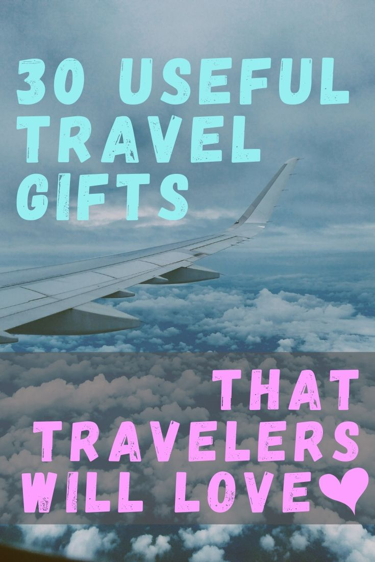 30 Useful Travel Gifts Loved by Travelers by JetSettingFools.com