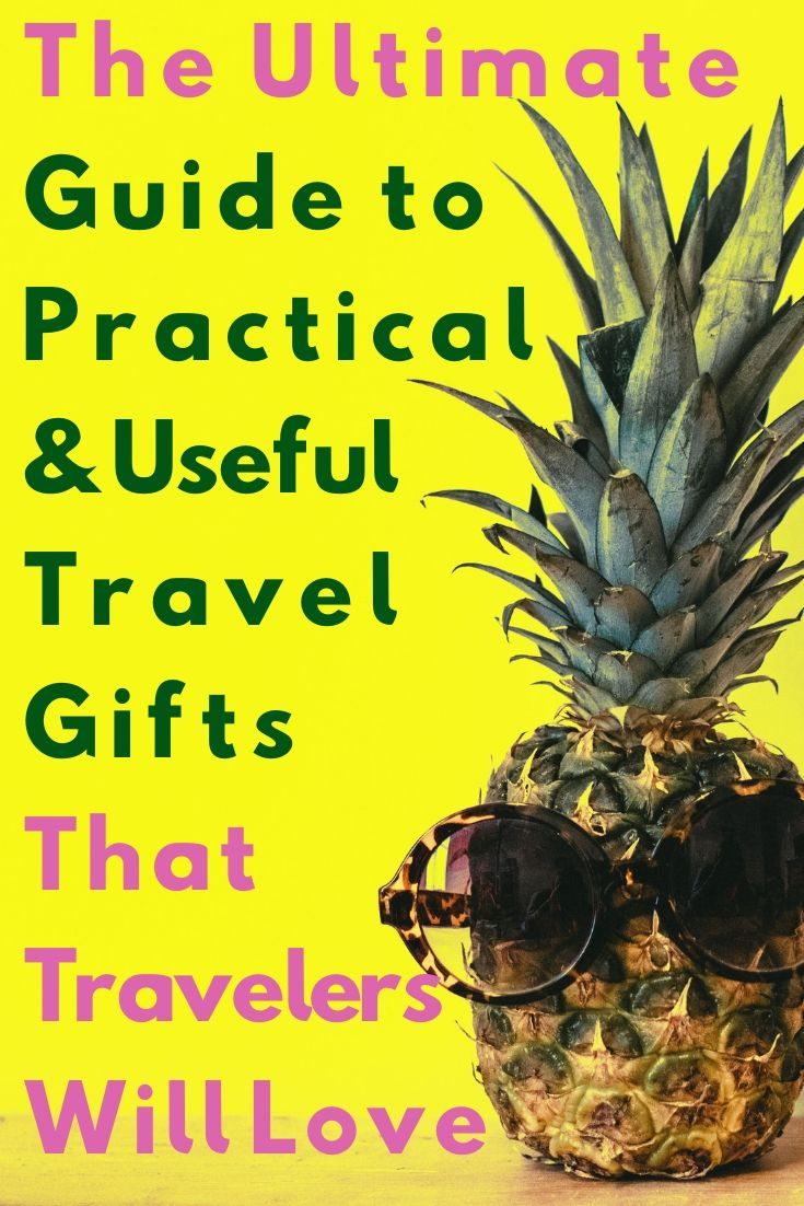 Guide to Useful Travel Gifts by JetSettingFools.com