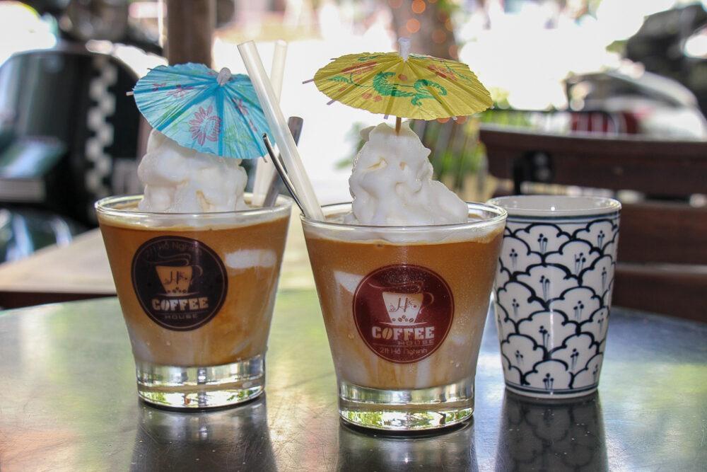 Coconut Coffee, H Coffee, Da Nang, Vietnam