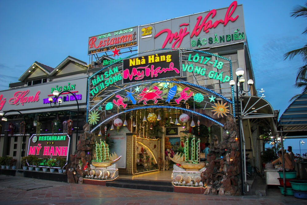 Typical Seafood Restaurant, Da Nang, Vietnam
