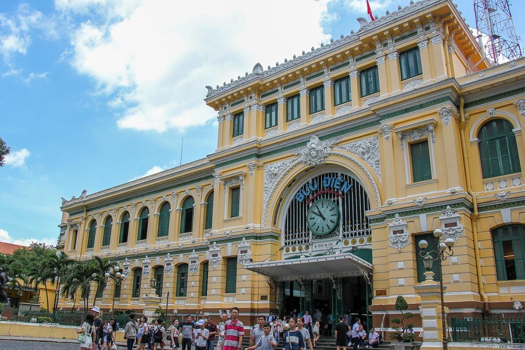 Central Post Office, Saigon, HCMC, Vietnam
