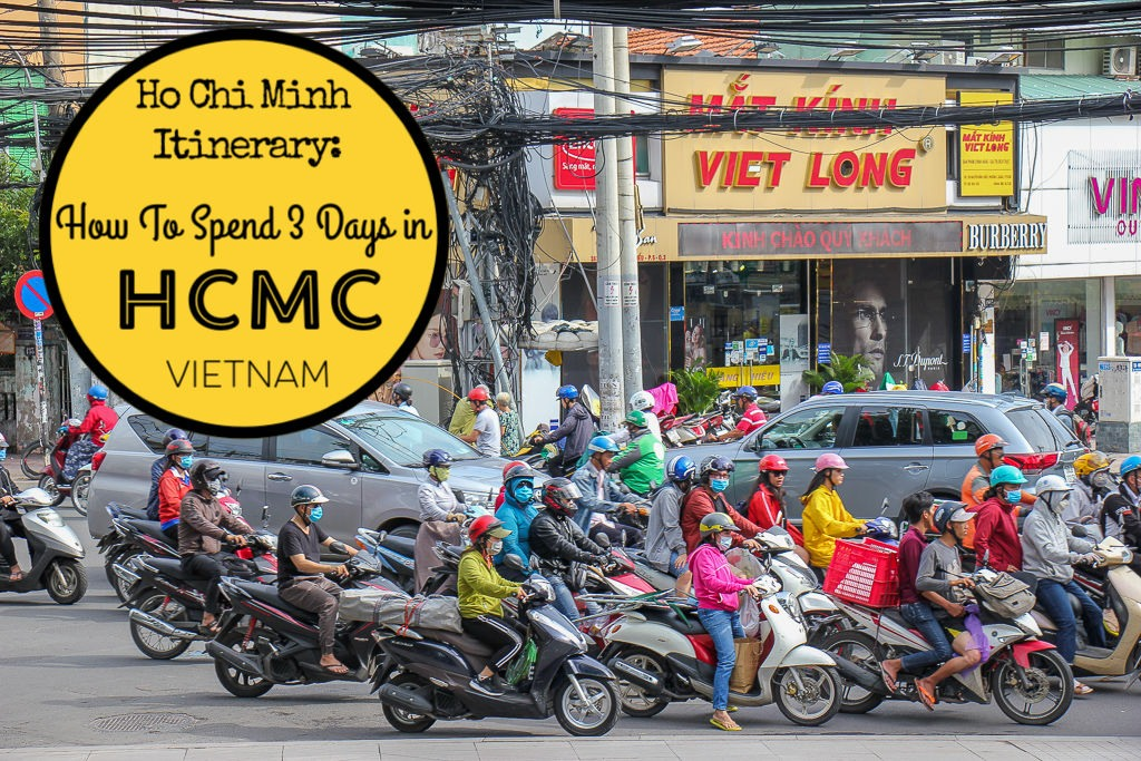 3 Days in Ho Chi Minh Itinerary by JetSettingFools.com