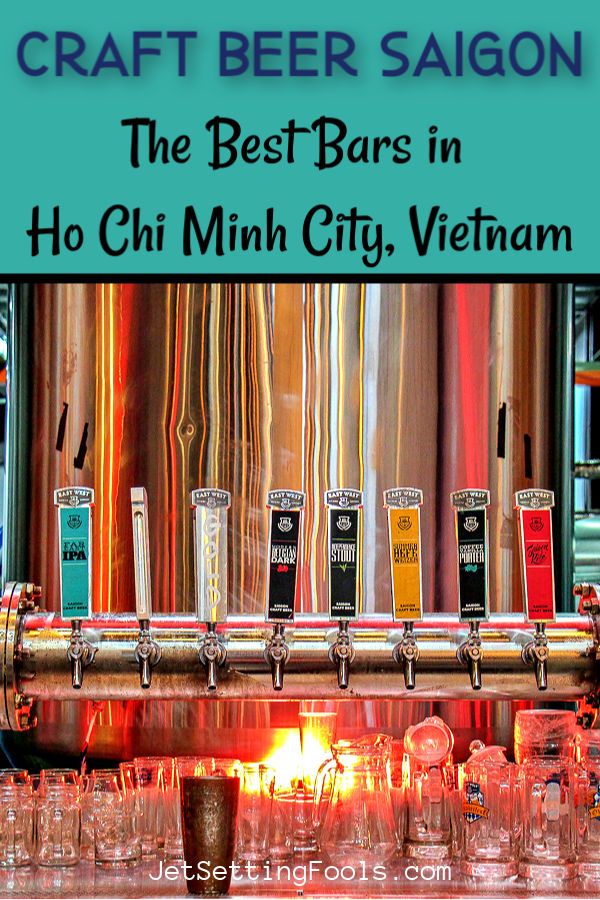 Craft Beer Saigon by JetSettingFools.com