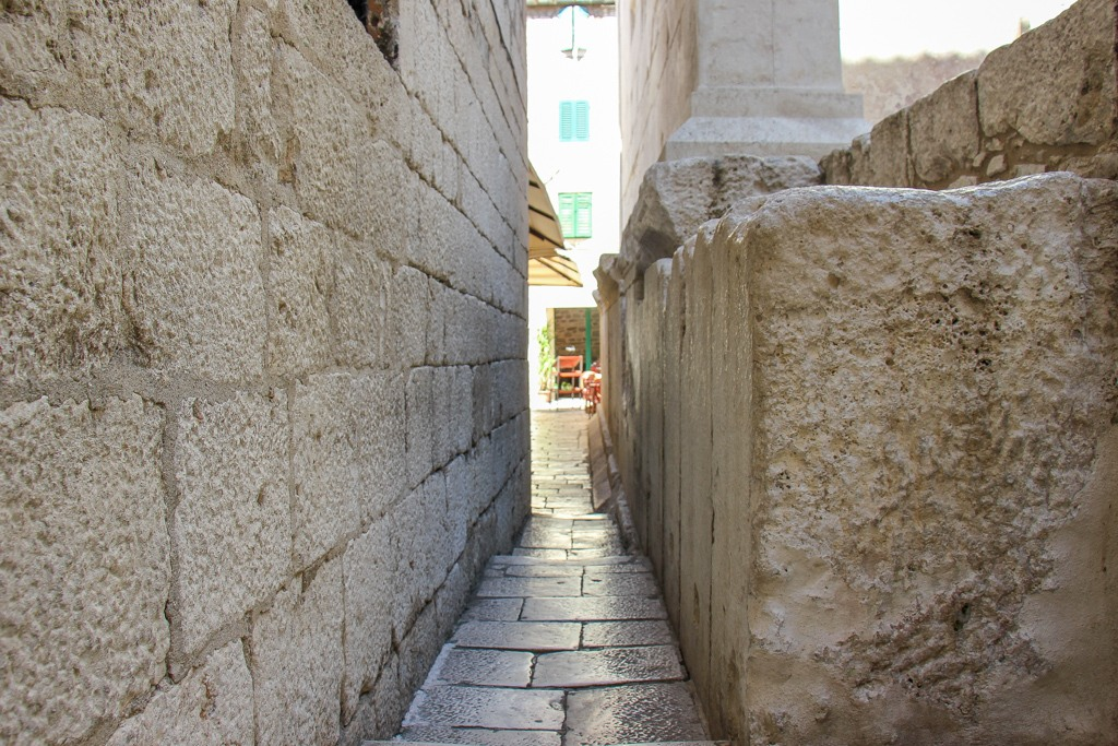 Smallest Lane, Split, Croatia