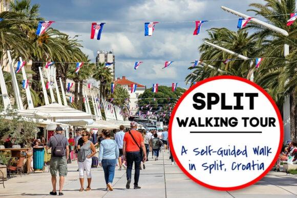 Split Walking Tour: A Self-Guided Walk in Split, Croatia by JetSettingFools.com