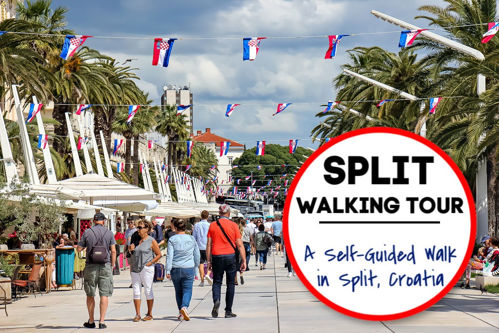 Split Walking Tour: A Self-Guided Walk in Split, Croatia by JetSettingFools.com