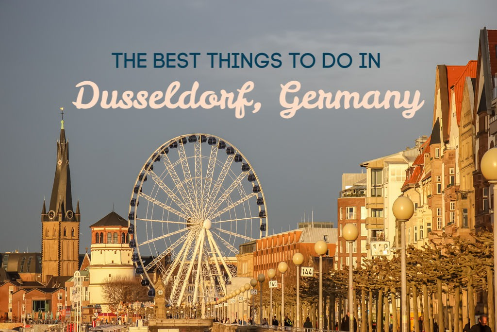 The Best Things to do in Dusseldorf, Germany by JetSettingFools.com
