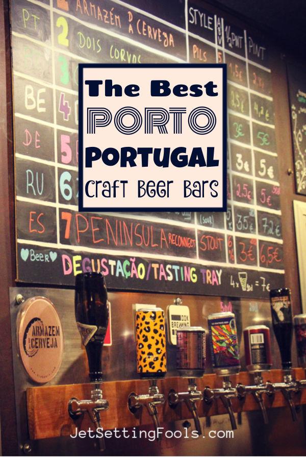 Best Port Craft Beer Bars by JetSettingFools.com