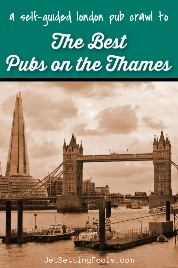 Self Guided London Pub Crawl by JetSettingFools.com
