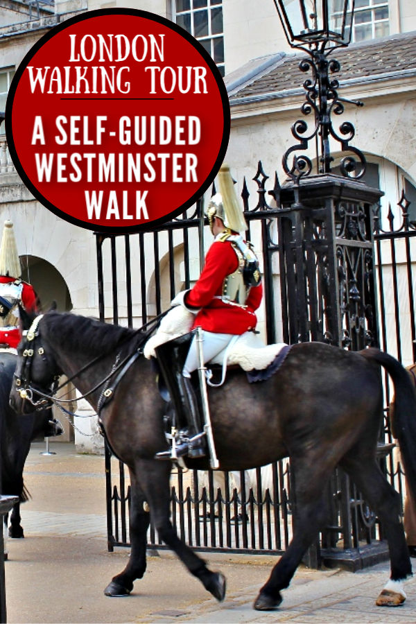 Self Guided London Walking Tour Westminster by JetSettingFools.com
