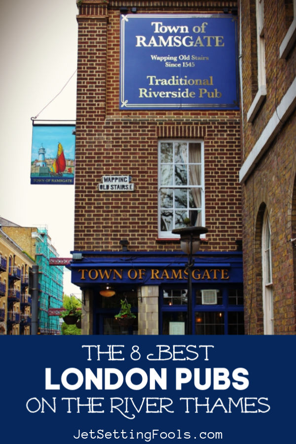 The Best London Pubs on the Thames River by JetSettingFools.com
