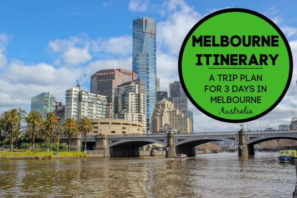 Melbourne Itinerary: A 3 Days in Melbourne Trip Plan by JetSettingFools.com