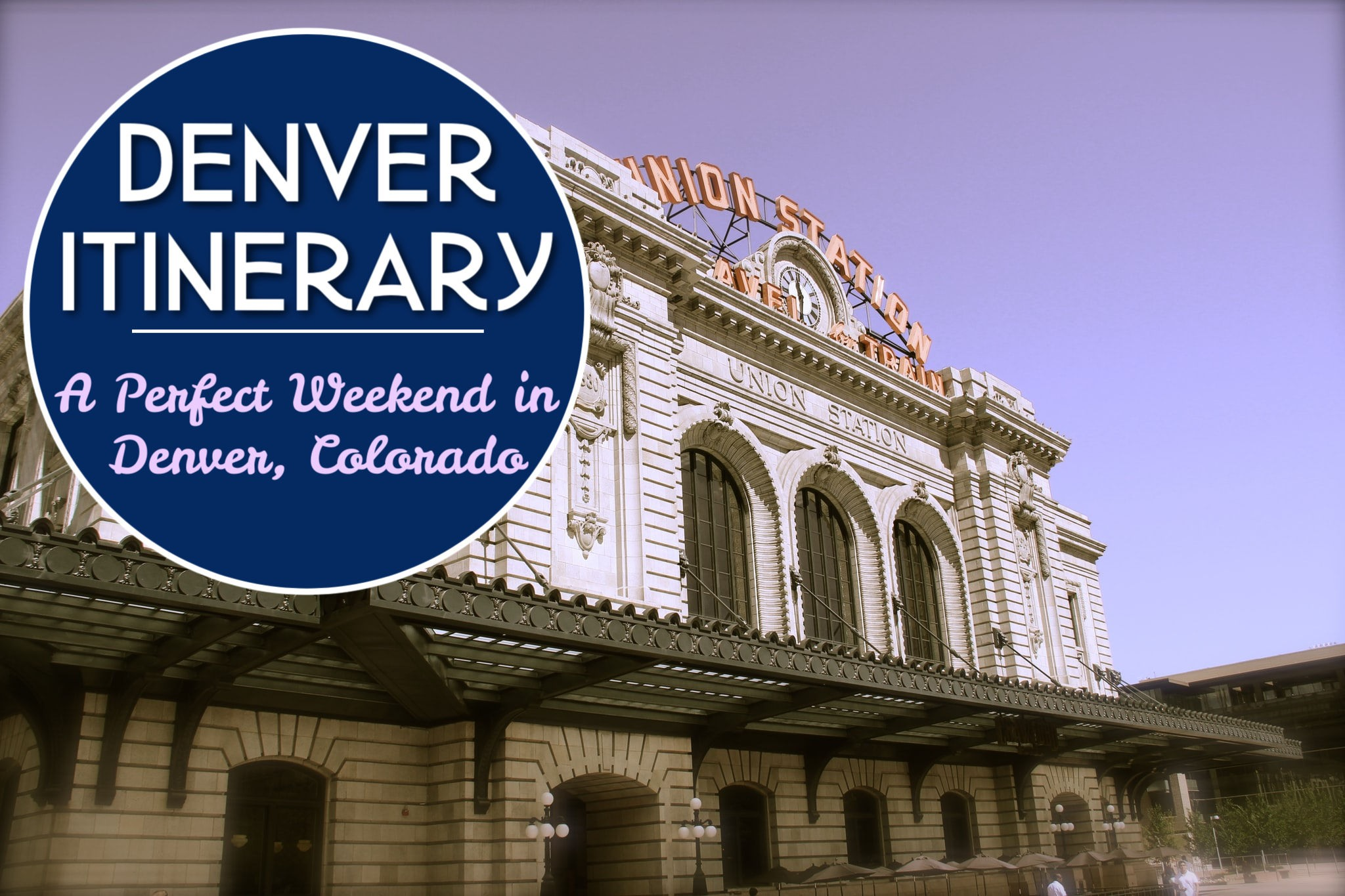 Denver Itinerary A Perfect Weekend in Denver, Colorado by JetSettingFools.com