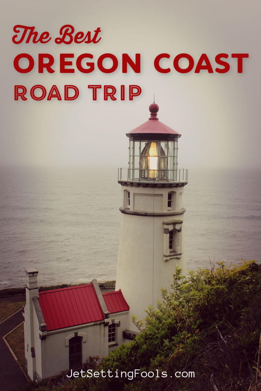 The Best Oregon Coast Road Trip by JetSettingFools.com