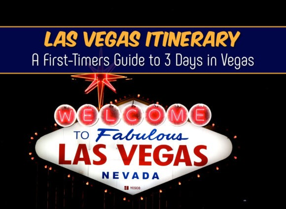 Las Vegas Itinerary A First Timers Guide to 3 Days in Vegas by JetSettingFools.com