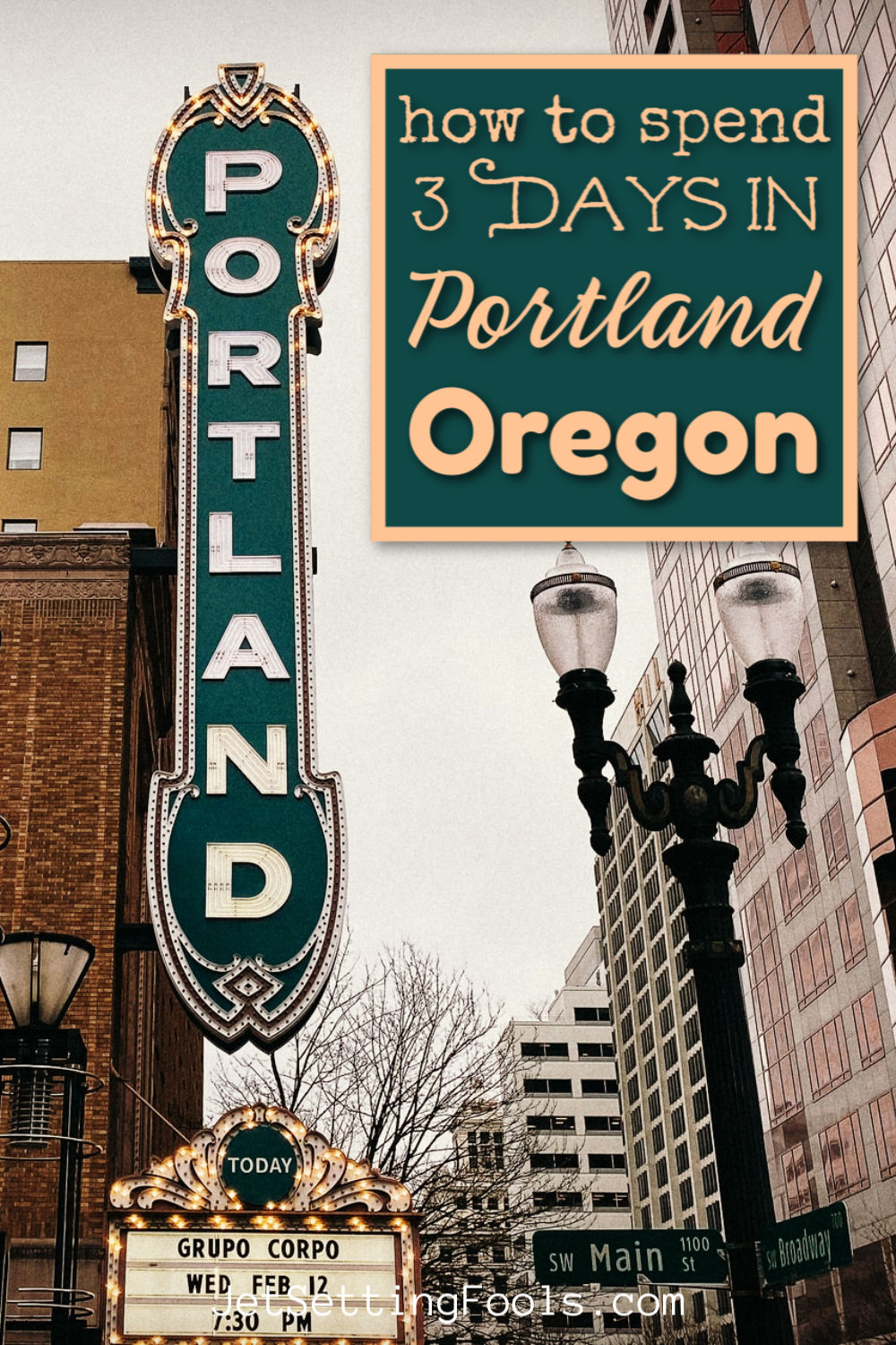 How To Spend 3 Days in Portland Oregon by JetSettingFools.com