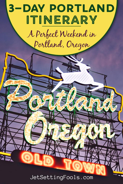 Portland Itinerary A Weekend in Portland, Oregon by JetSettingFools.com