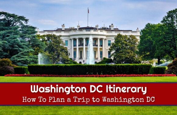 Washington DC Itinerary How To Plan a Trip to Washington DC by JetSettingFools.com