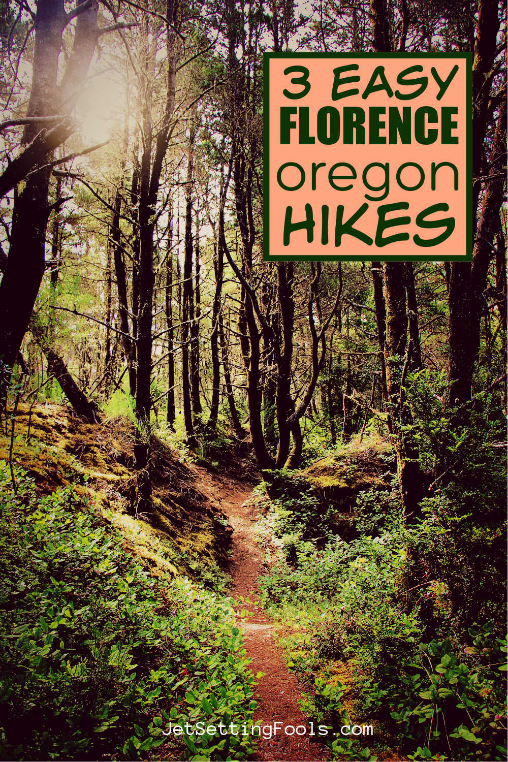 3 Easy Florence, Oregon Hikes by JetSettingFools.com