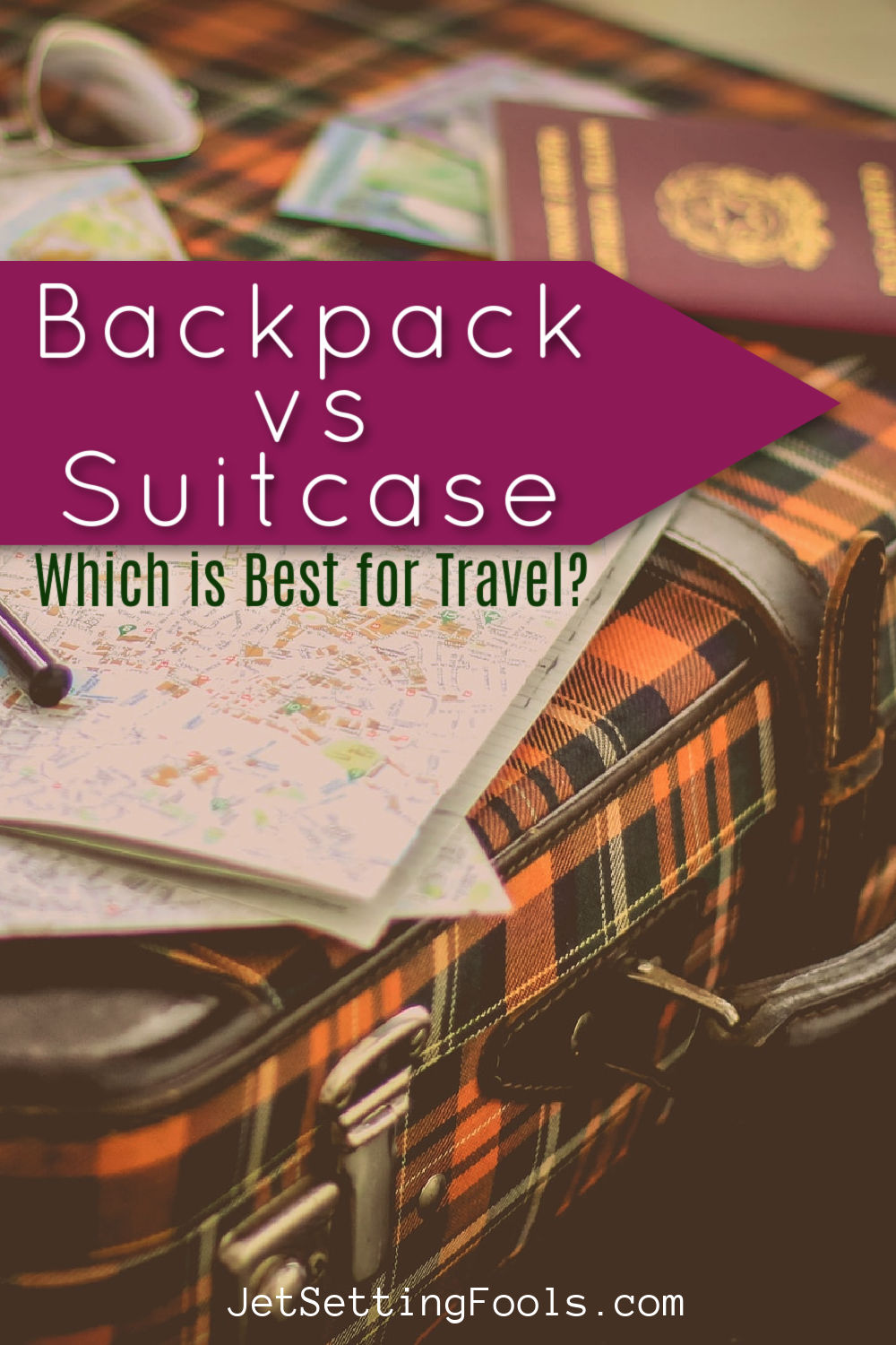 Backpack vs Suitcase Which is Best for Travel by JetSettingFools.com