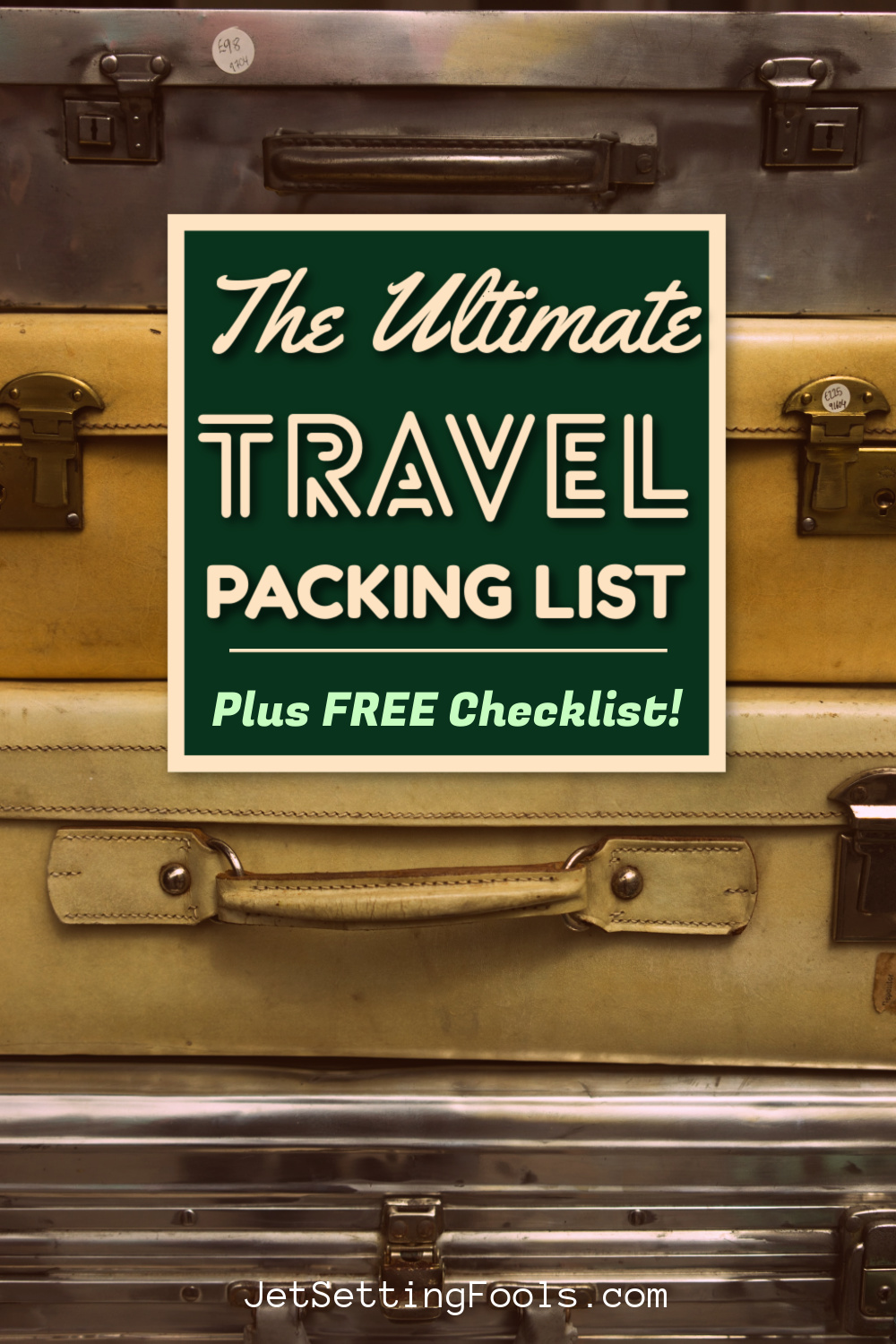 Ultimate Travel Packing List by JetSettingFools.com